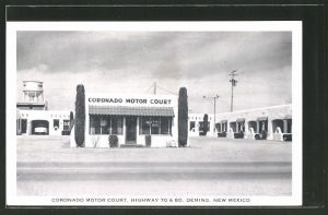 AK Deming, NM, Coronado Motor Court, Highway 70 & 80