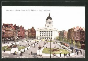 AK Nottingham, Council House and City Square