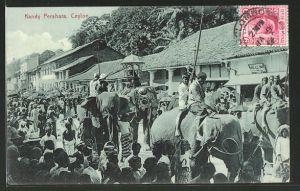 AK Ceylon, Kandy Perahara
