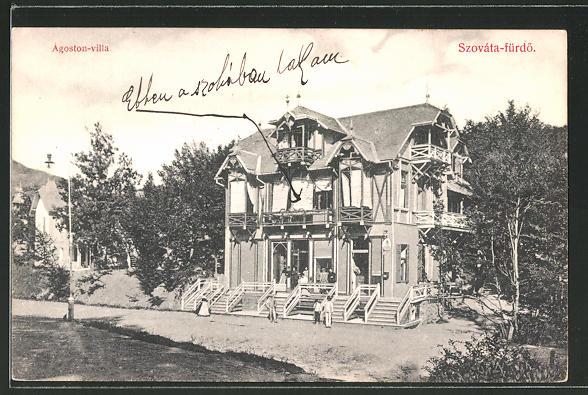 AK Szováta-fürdö, Agoston-villa