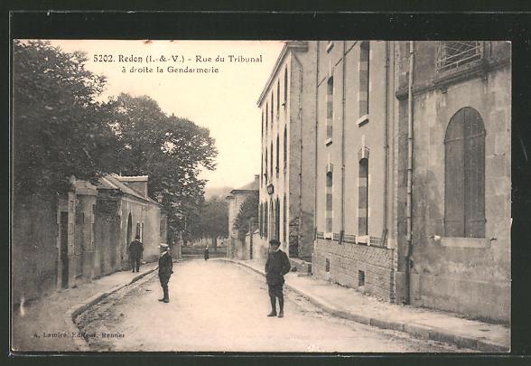 AK Redon, Rue du Tribunal, la Gendarmerie