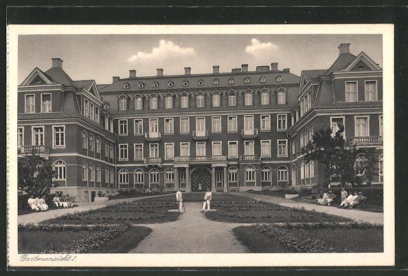 AK Halle / Saale, St. Elisabeth-Krankenhaus