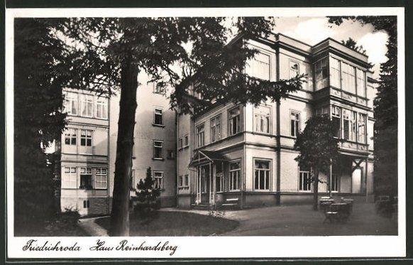 AK Friedrichroda, Hotel-Haus Reinhardsberg
