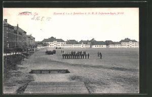 AK Kamenz, Kaserne des 1. u. 3. Bataillons d. 13. Kgl. Sächs. Inf. Reg. No. 178