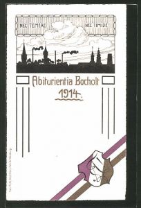 AK Bocholt, Absolvia Abiturientia Bocholt 1914,