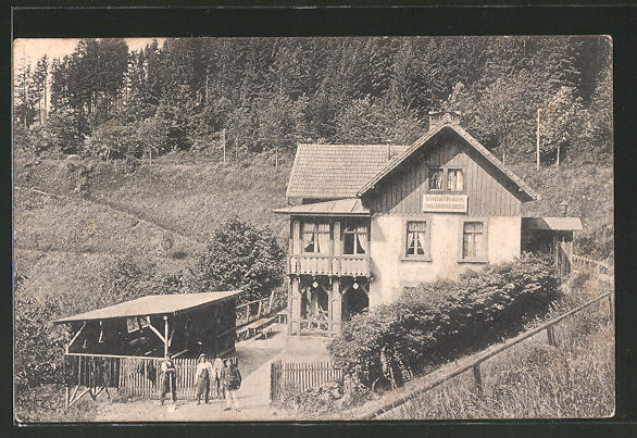 AK Markirch, Blick auf das Forsthaus Pflanzschule