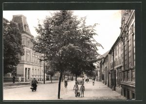 AK Trebbin, Blick in die Berliner Strasse
