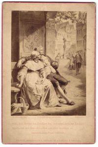 Fotografie Friedr. Bruckmann's Verlag, München, Berlin, London, Gemälde von L. Hoffmann, Seht, dort kommt der Prediger
