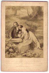 Fotografie Friedr. Bruckmann's Verlag, München, Berlin, London, Gemälde von L. Hoffmann, Und sie sahen gespiegelt...
