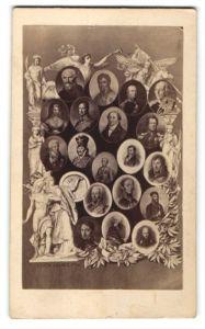 Fotografie Adel Preussen, Königin Luise von Preussen, u.a.