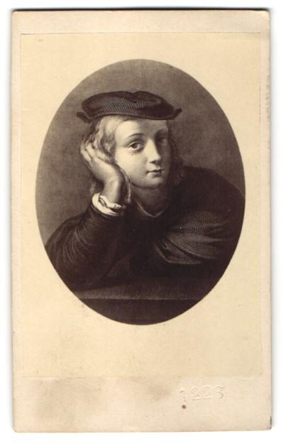 Fotografie Portrait Maler & Architekt Raffaelo Sanzio da Urbino