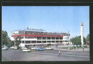AK Alma-Ata, Bus-Bahnhof