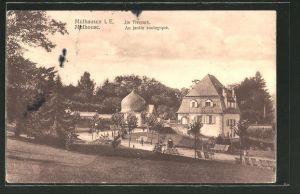 AK Mülhausen/ Mulhouse, Tierpark, au jardin zoologique