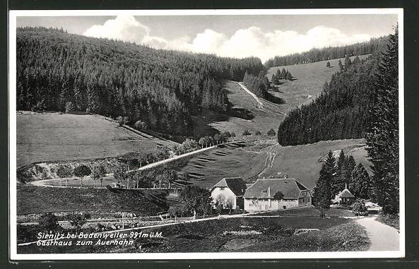 AK Sirnitz, Gasthaus zum Auerhahn