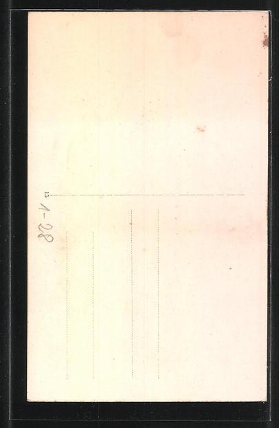 knstler ak portrt von otto von bismarck und sein lebenslauf 1 - Otto Von Bismarck Lebenslauf