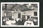 AK Düsseldorf, Restaurant Pumpernickel, Flinger Str. 37-39, Innenansicht