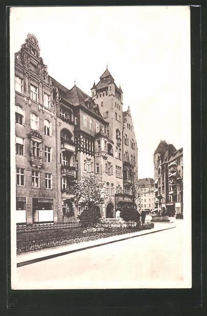 AK Berlin-Schöneberg, Haberlandstrasse im Bayrischen Viertel
