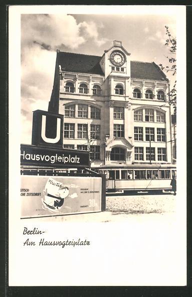 AK Berlin, U-Bahnhof Hausvogteiplatz