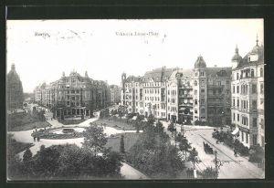 AK Berlin-Schöneberg, Blick auf den Viktoria Luise-Platz