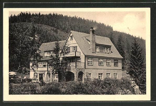 AK Wildemann, Blick zum Restaurant-Parkhaus