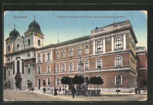 AK Kolozsvár, Piaristák temploma és Ferencz Józef tudományios egyetem