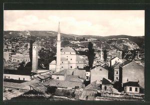 AK Sarajewo, Teilansicht mit Begova Moschee