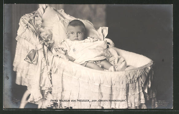 AK Prinz Wilhelm von Preussen als Baby