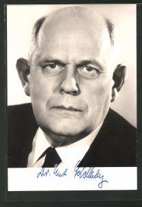 AK Stellvertr. Vorsitzender der SPD Bundestagsfraktion Prof. Dr. Ernst Schellenberg