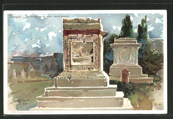 AK Pompei, La tomba di un marinaio