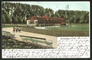 AK Dresden, Sportplatz an der Lennestrasse