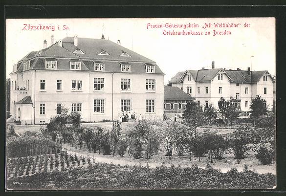 AK Zitzschewig, Frauen-Genesungsheim