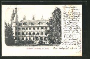 AK Puchberg, Ansicht von Schloss Puchberg