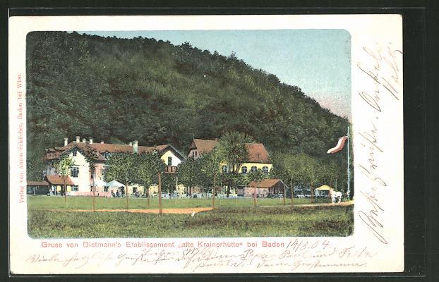 AK Baden, Dietmann's Restaurant