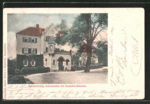 AK Sommerfeld / Lubsko, Schloss Dolzig, Geburtsstätte der Deutschen Kaiserin