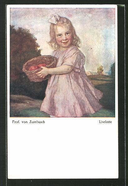 Künstler-AK Ludwig von Zumbusch:
