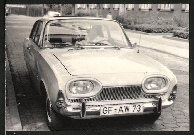 Fotografie Auto Ford Taunus, PKW mit Schiebedach