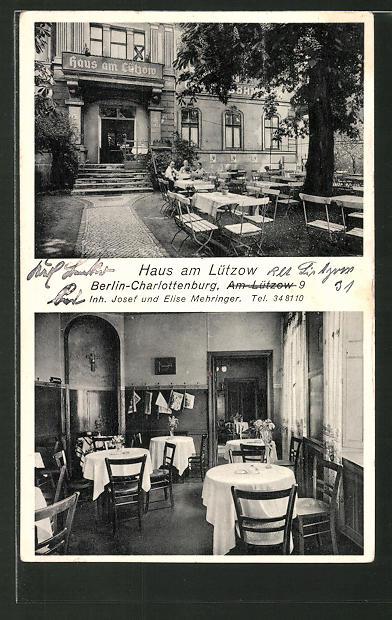 berlin kirche in alt lietzow verlag phot atelier prenzel berlin nr 487125520 oldthing. Black Bedroom Furniture Sets. Home Design Ideas