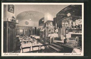 AK Berlin-Schöneberg, Café Schöneberg, Innenansicht, Hauptstrasse 23/24
