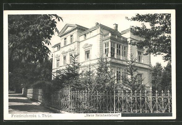 AK Friedrichroda, Hotel Haus Reinhardsberg