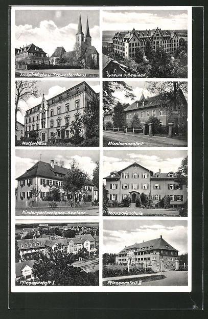 AK Neuendettelsau, Lyzeum m. Seminar, Mutterhaus, Industrieschule & Kindergärtnerinnen-Seminar