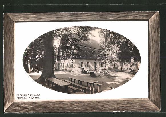 AK Hohenstein-Ernstthal, Partie am Forsthaus Haynholz