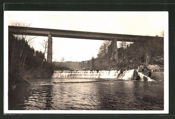 AK Mangfallbrücke der Reichsautobahn München-Landesgrenze