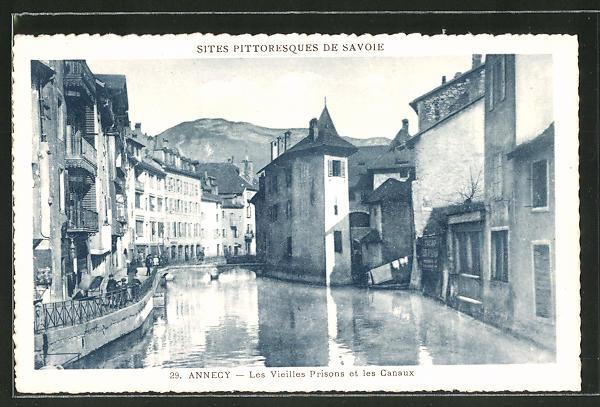 AK Annecy, Les Vielles Prisona et les Canaux