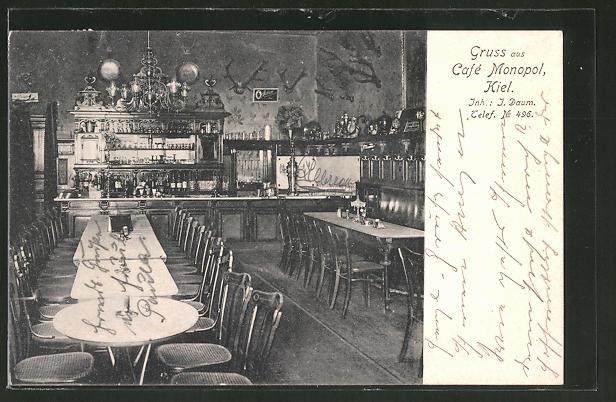 AK Kiel, Blick das Café Monopol