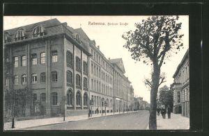 AK Rathenow, Blick in die Berliner Strasse