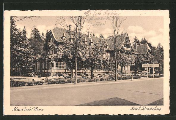 AK Alexisbad, Hotel Försterling