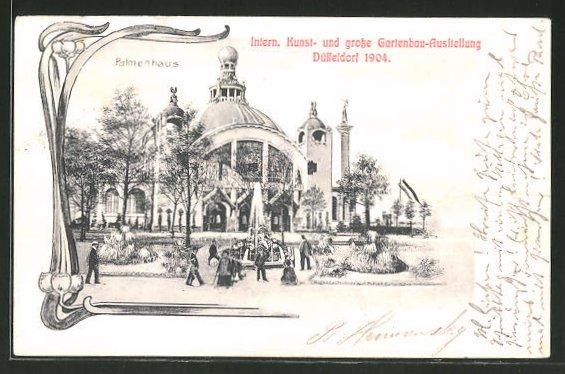 Gartenbau Düsseldorf ak düsseldorf internationale kunst und grosse gartenbau