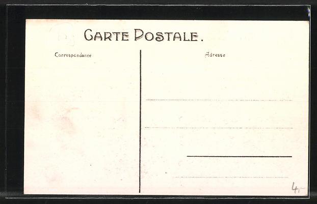 AK Bruxelles, Exposition Universelle de Bruxelles 1910, l'Incendie des 14-15 Aout 1910, la Grande Terrasse 1