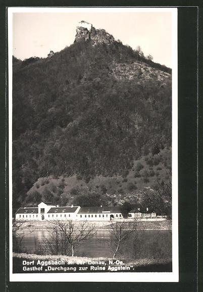 AK Dorf Aggstein a.d. Donau, Gasthaus