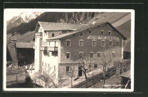 AK Kappl i. Paznauntal, Ansicht vom Gasthof Post